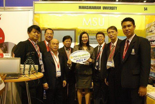 MSU ROADSHOW SHINES AT 7TH QS APPLE IN MANILA