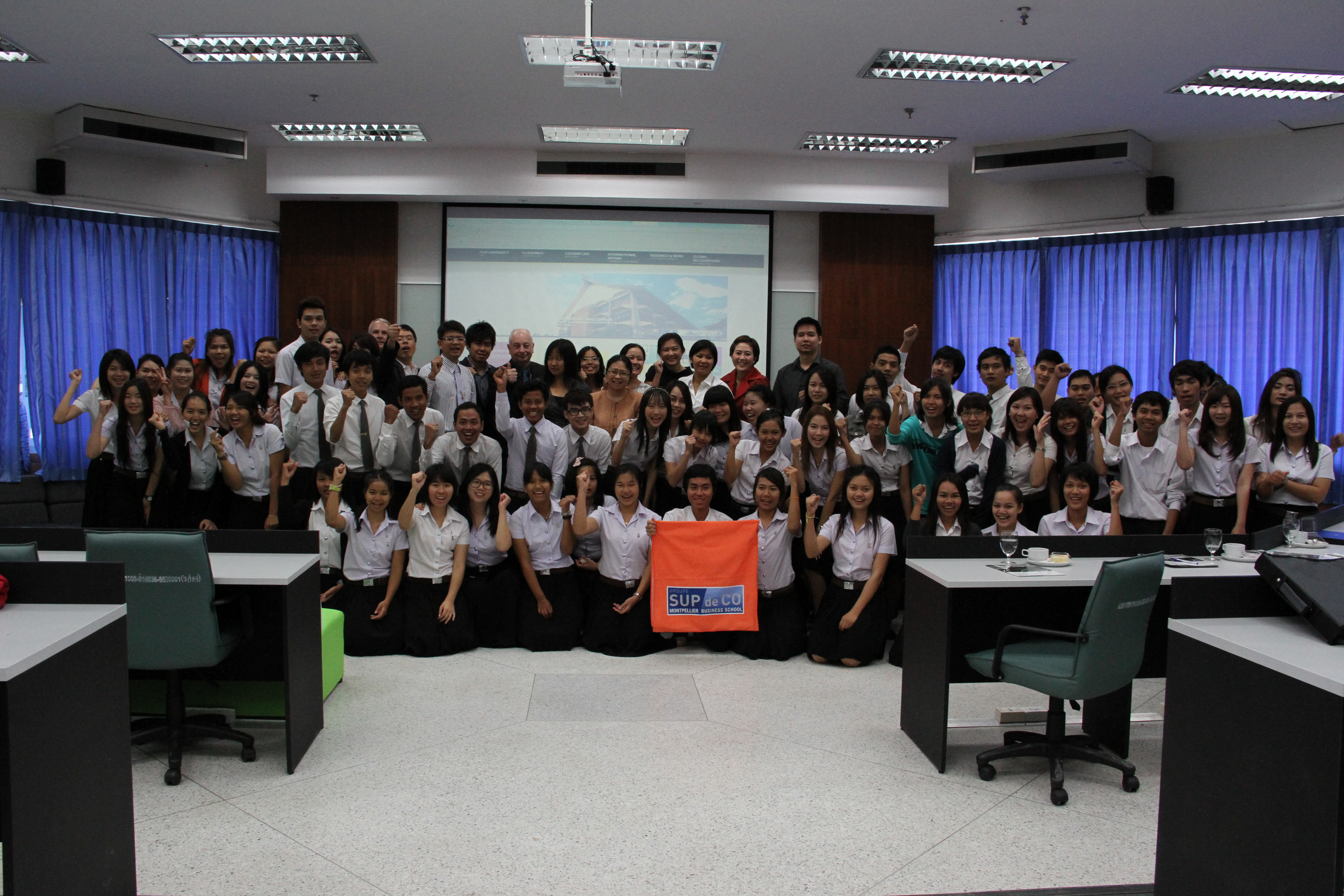 GSCM-Montpellier Business School Project Development Manager for Asia Visits MSU