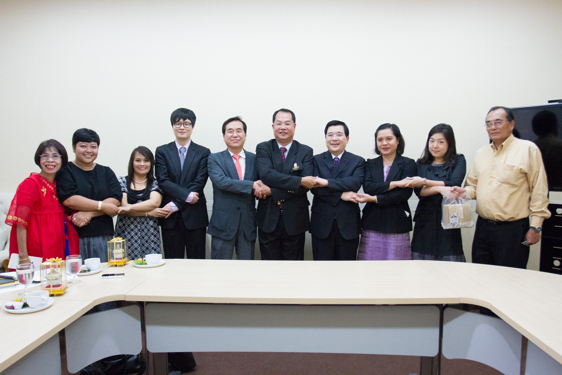 MSU Welcomed Delegates from Gyeonggi English Village, Paju South Korea