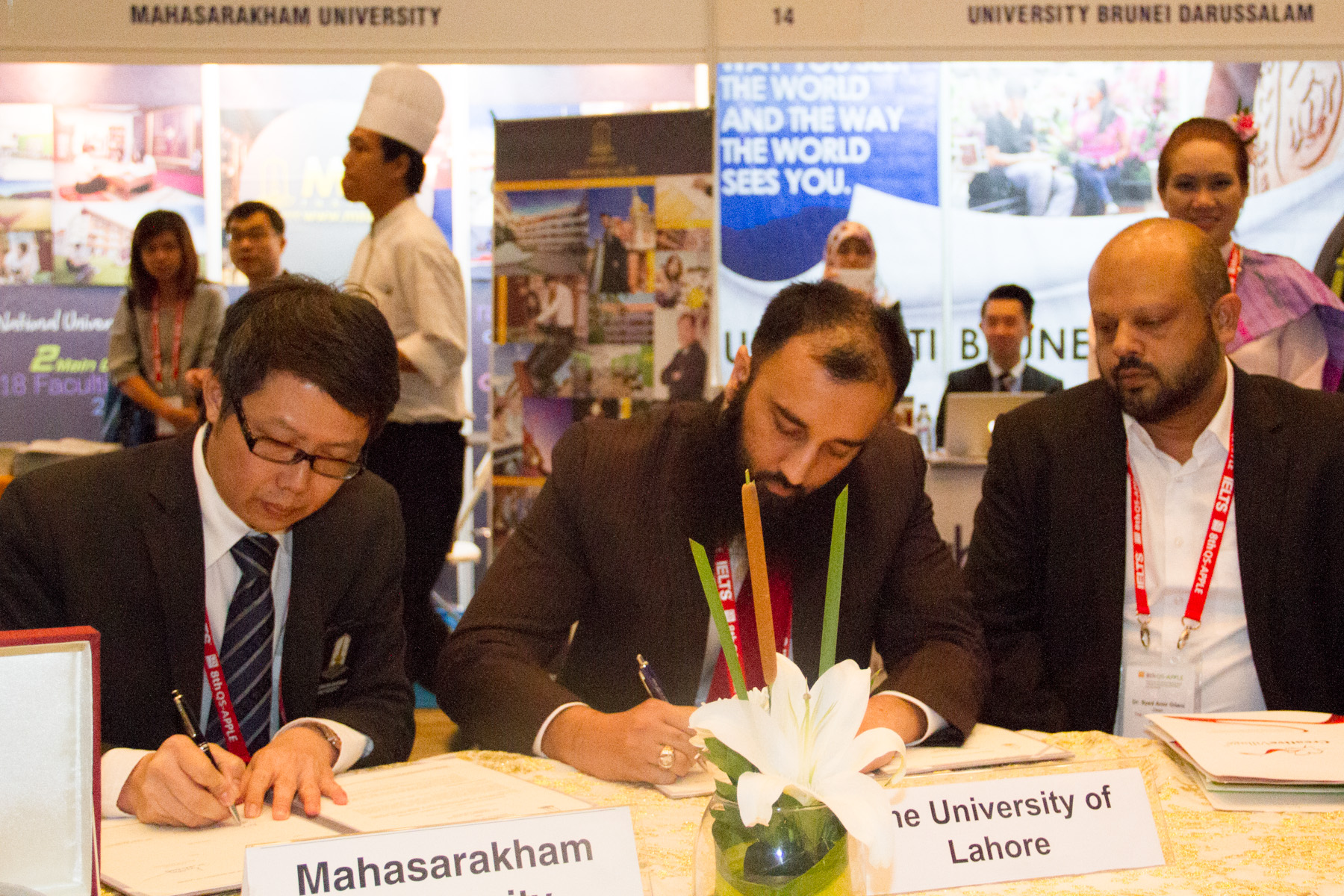 MoU Signing Ceremony with The University of Lahore, Pakistan