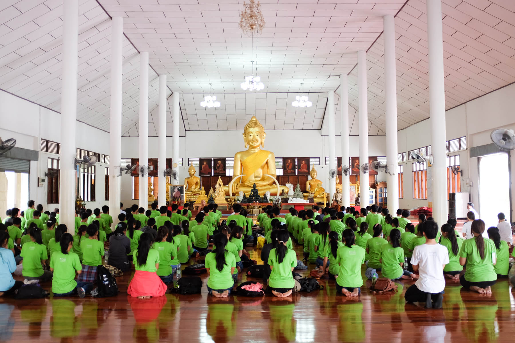 Spiritual and Study Tours for Cambodian Scholars