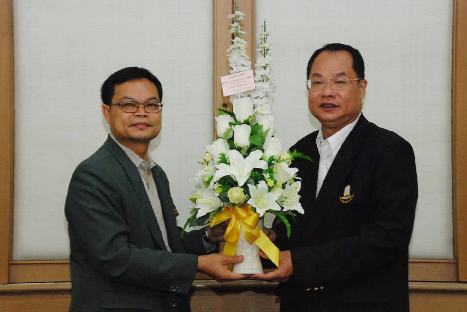 Congratulatory Bouquets from MSU President