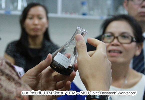 UTM-MSU joint Research Workshop