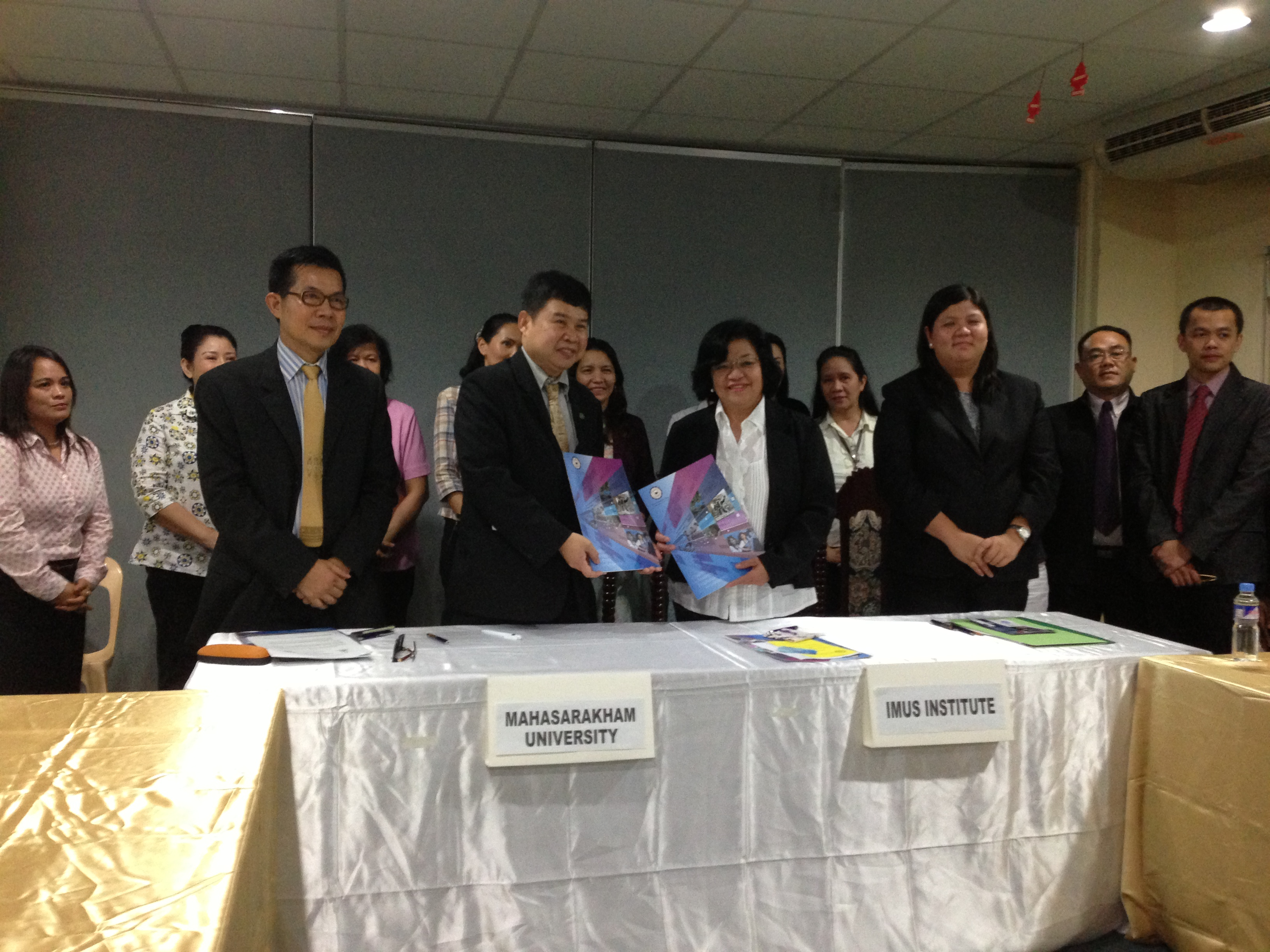 MSU - IMUS Institute, Philippines MOU Signing Ceremony