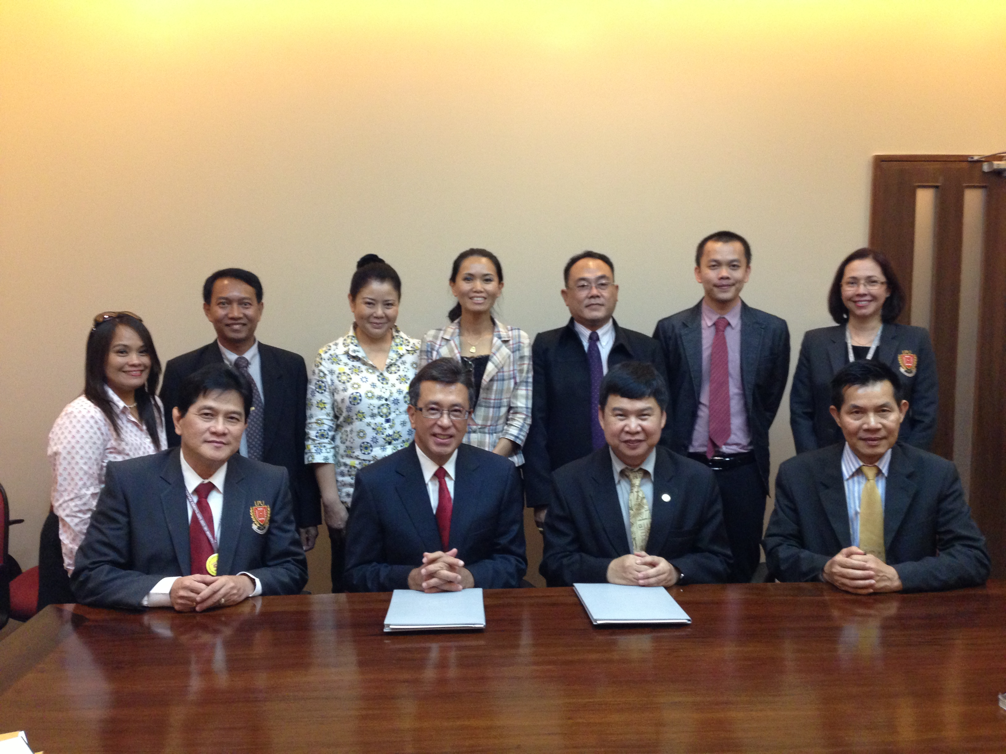 MSU Signed MOU with Lyceum of the Philippines University