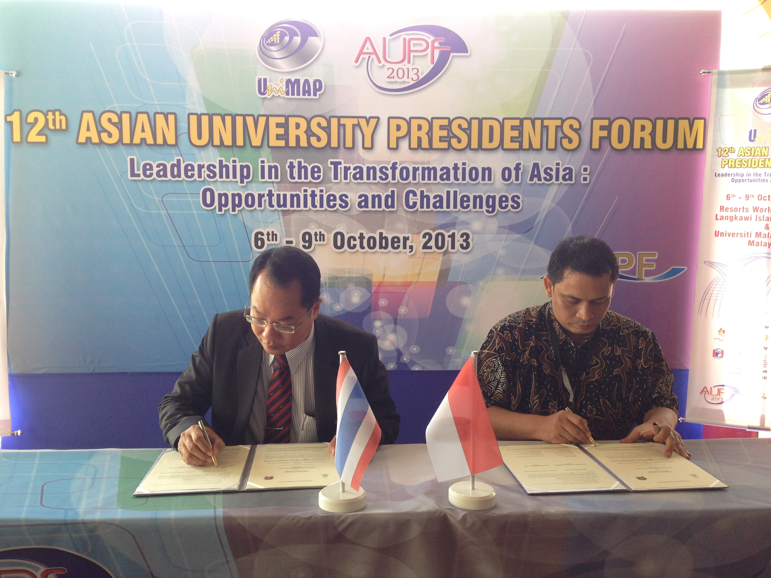 MoU with Universitas Pembangunan Panca Budi, Indonesia