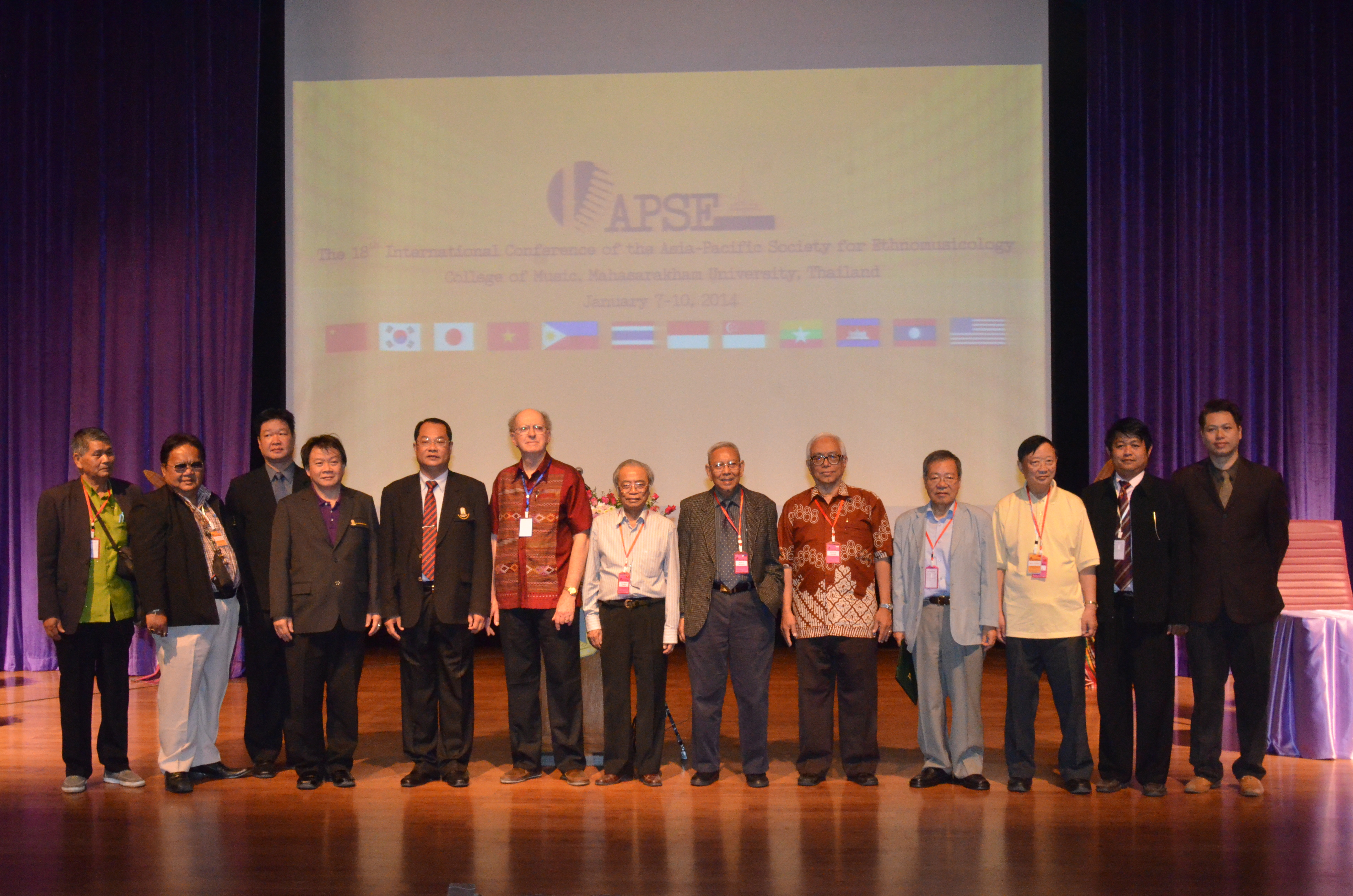 18th International Conference of the Asia-Pacific Society for Ethnomusicology held at MSU
