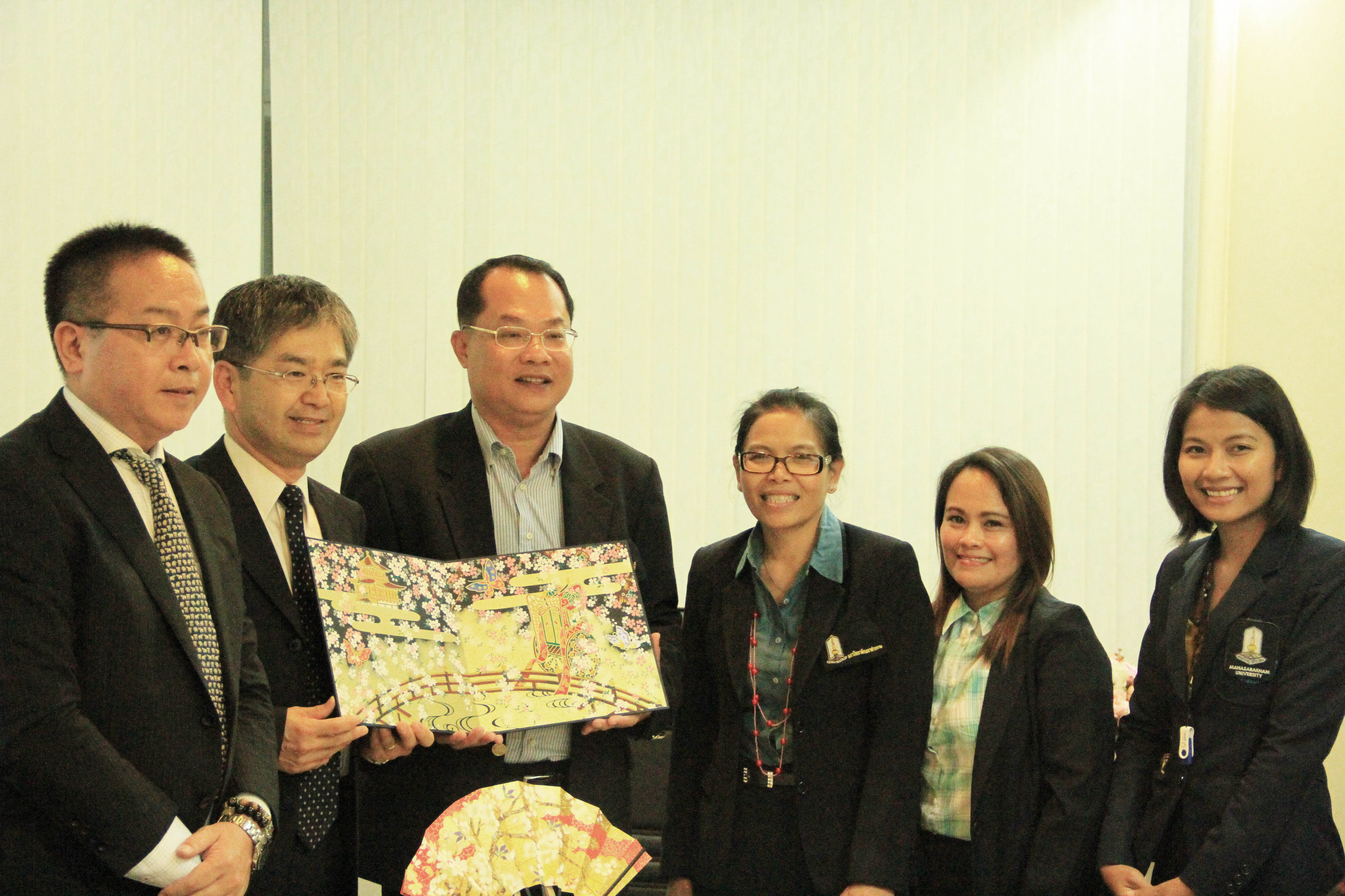 MSU Welcomed the Visitors from Kyoto Univ. of Foreign Studies