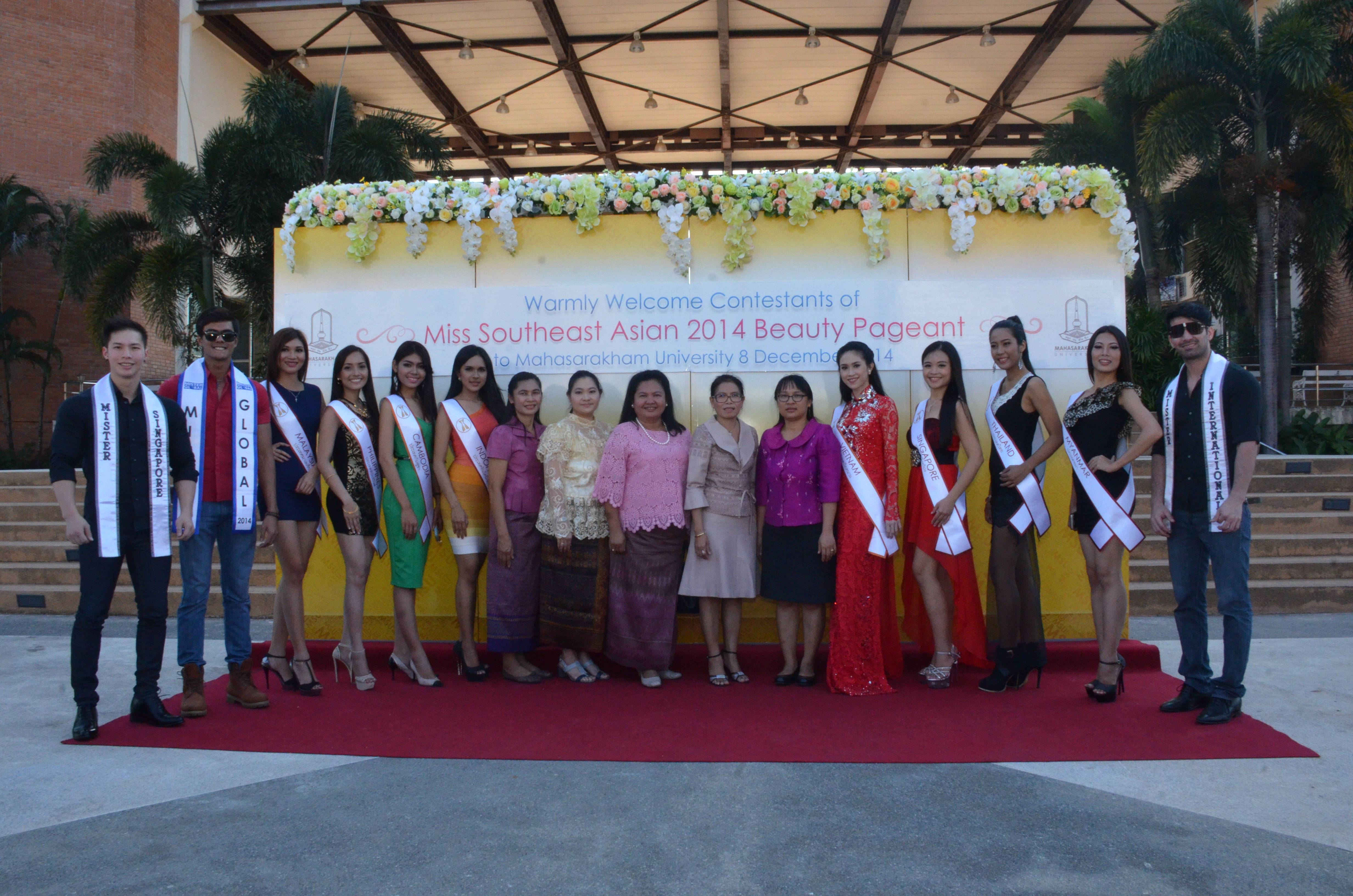 Miss Southeast Asian 2014 Beauty Pageant Contestants at MSU