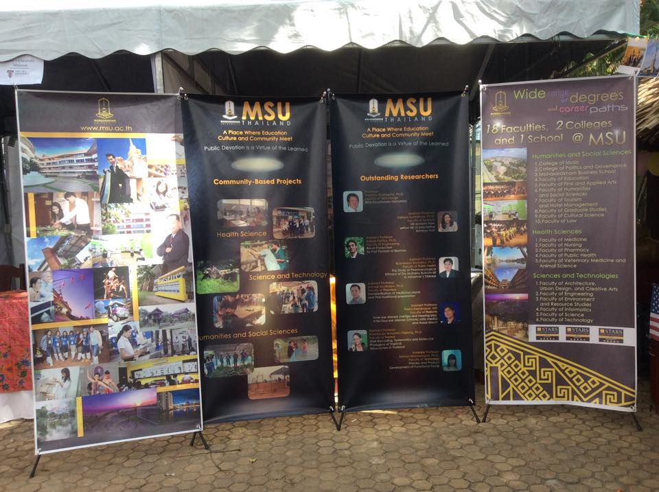 MSU Booth @ Study Abroad and Cultural Exchange Fair