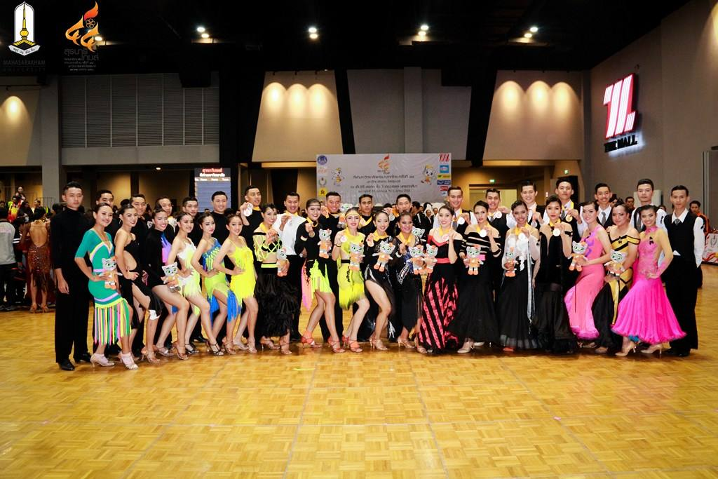 MSU Dancesport Teams Bring Home 11 Medals at the 44th Thailand University Games