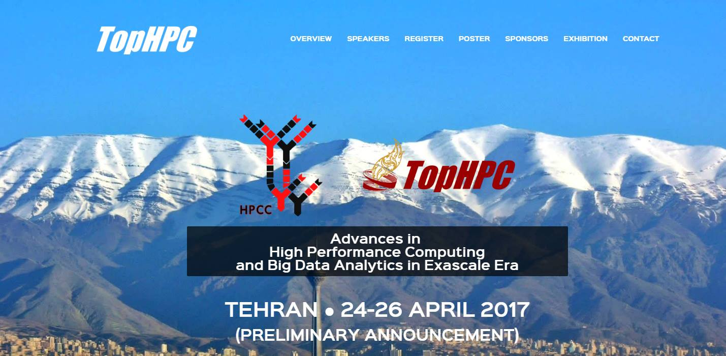 Call For Paper: TopHPC International Conference (TopHPC2017)