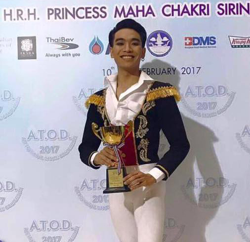 MSU Student Wins a Classical Ballet Competition at the 1st A.T.O.D. International Dance Competition