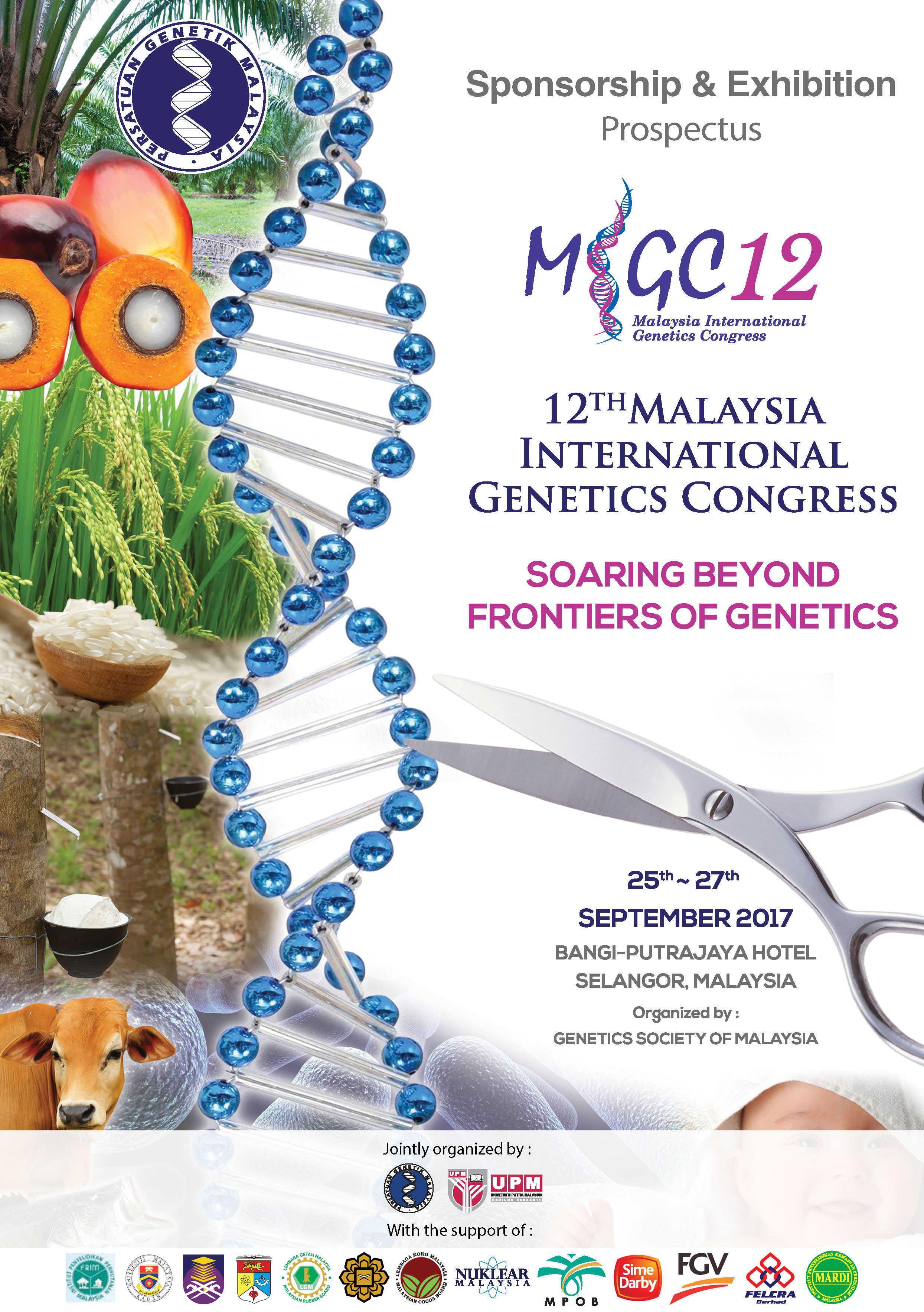 The 12th Malaysia International Genetics Congress (MiGC 12)