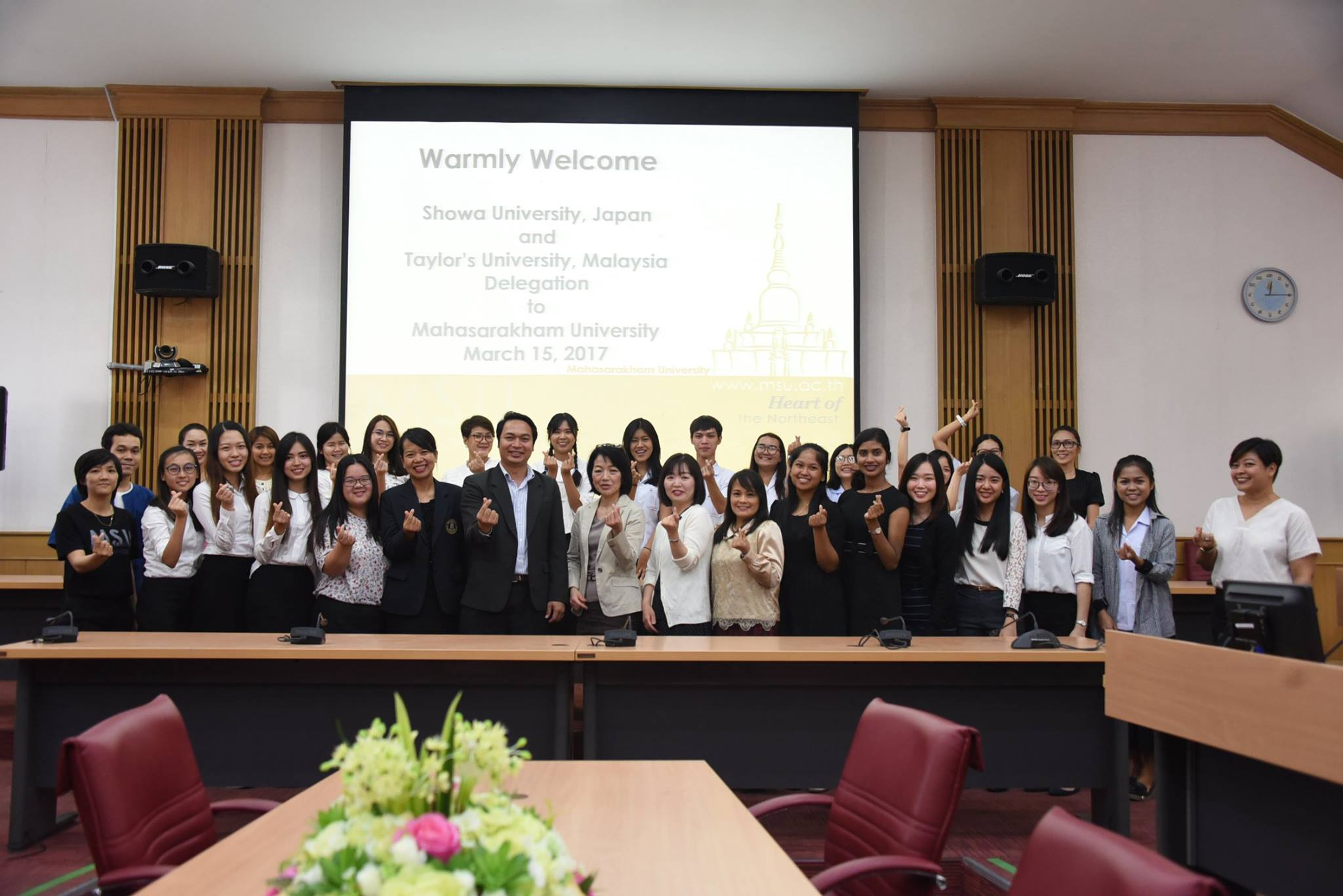 MSU Welcomes a Group of Exchange Staff and Students from Japan and Malaysia