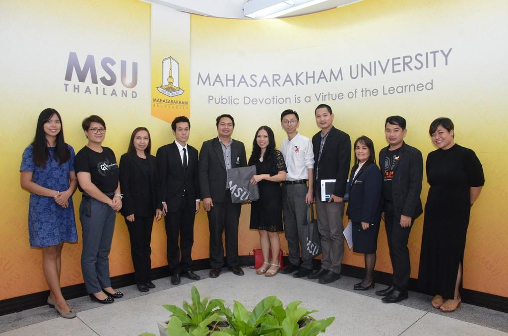 MSU Welcomes the Delegates from the British International School of Northern Thailand