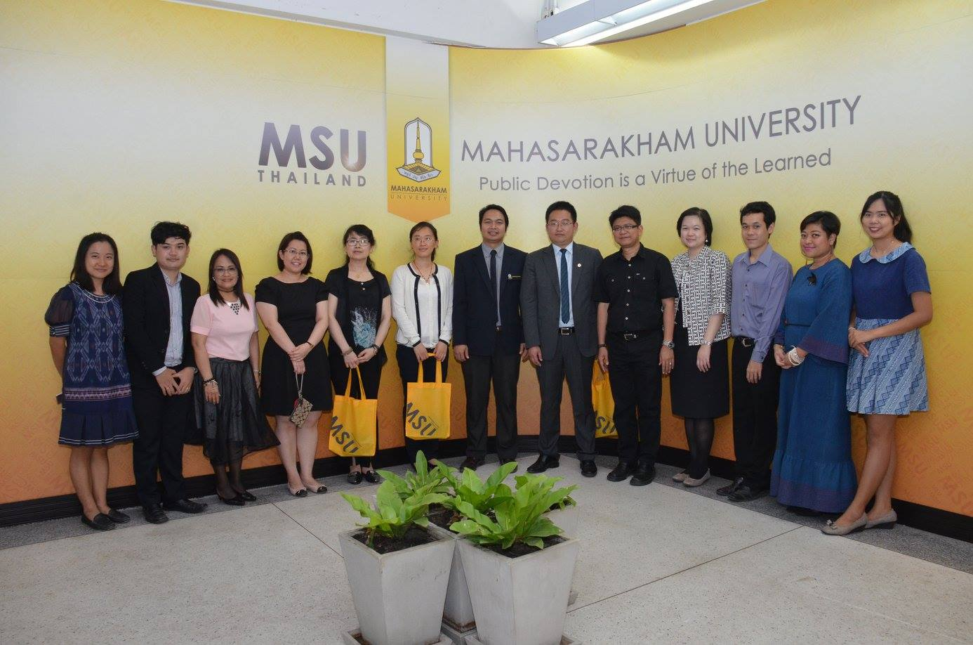 MSU Welcomes the Delegates from Nanjing Audit University, China