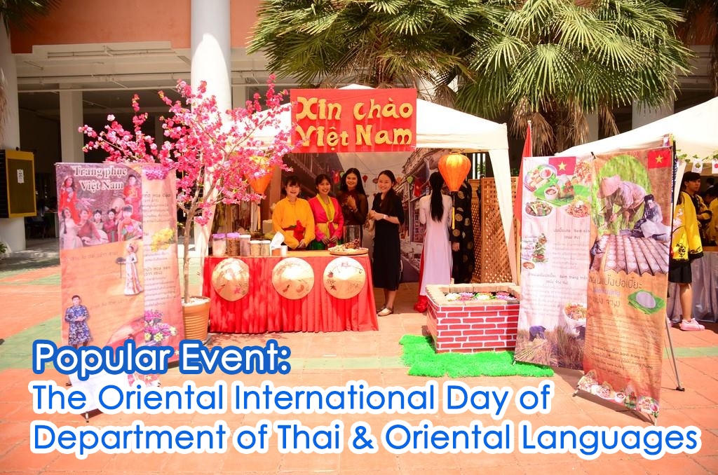Popular Event: The Oriental International Day of Department of Thai & Oriental Languages