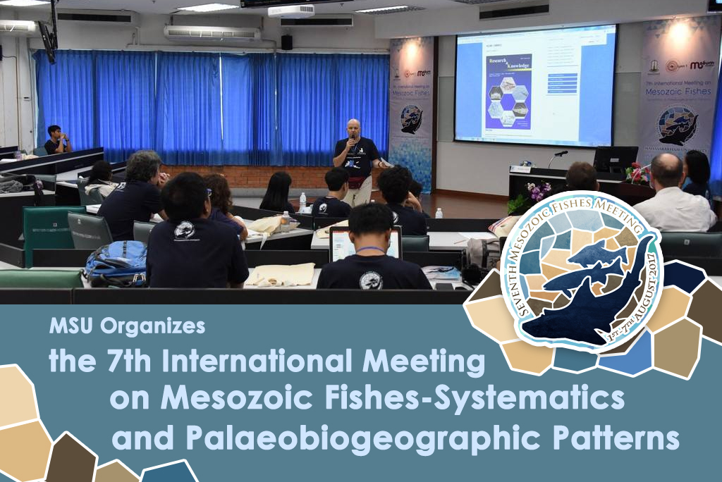 MSU Organizes the 7th International Meeting on Mesozoic Fishes-Systematics and Palaeobiogeographic Patterns
