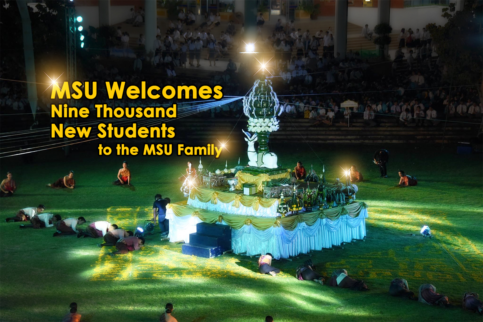 MSU Welcomes Nine Thousand New Students to the MSU Family