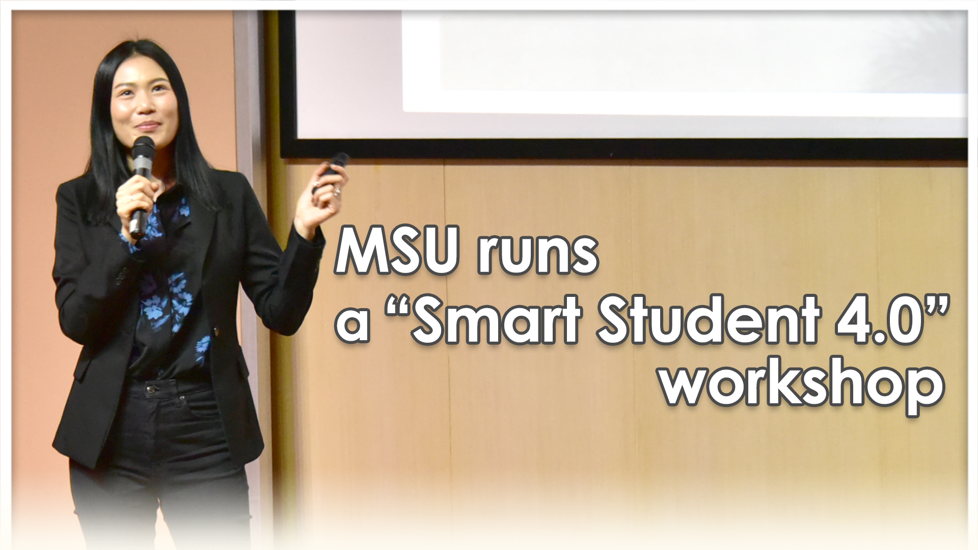 "MSU runs a ""Smart Student 4.0"" workshop."
