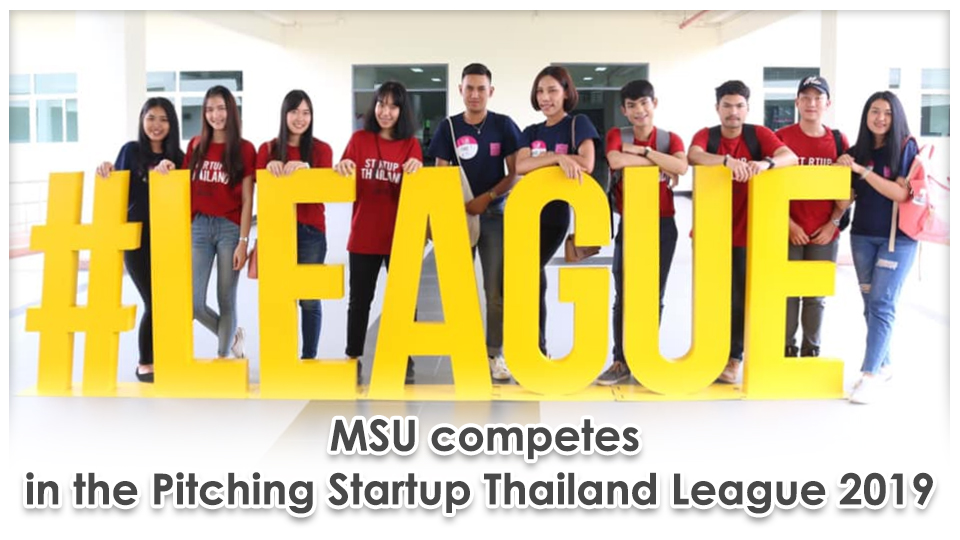 MSU competes in the Pitching Startup Thailand League 2019