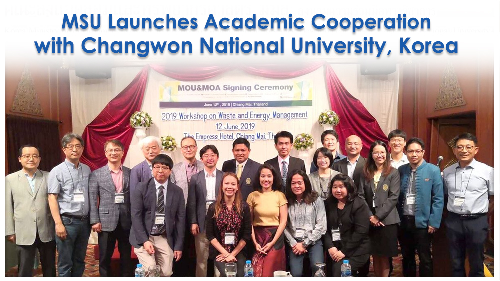 MSU Launches Academic Cooperation with Changwon National University, Korea