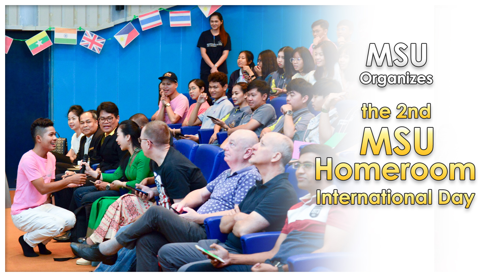 MSU Organizes the 2nd MSU Homeroom International Day