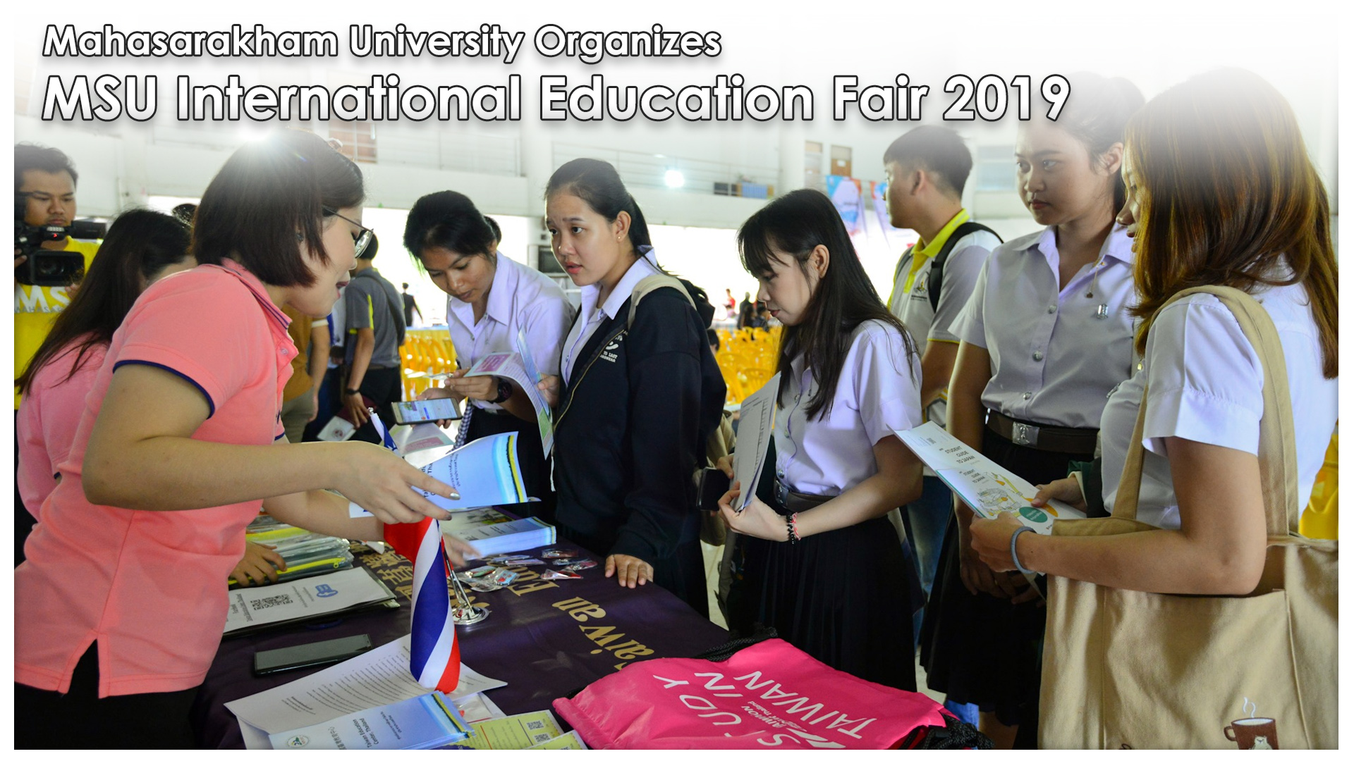 Mahasarakham University Organizes MSU International Education Fair 2019