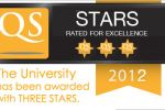 The University has been awarded with THREE STARS