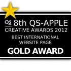 More about 8th QS-APPLE CREATIVE AWARD 2012 : BEST INTERNATIONAL WEBSITE PAGE GOLD AWARD