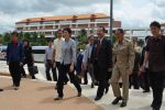 Thai PM Yingluck Shinawatra Visits  Mahasarakham University