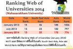 Webometrics Ranking of World Universities 2014