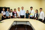 MSU Asia Summer Program 2014 Participants Met the President