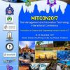 "MITiCon, 14-16 December 2017 Classic Kameo Ayutthaya Hotel, Ayutthaya, Thailand ""Innovation on Science and Engineering towards Industry 4.0"""