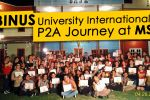 BINUS University International P2A Journey at MSU