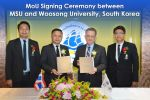 MoU Signing Ceremony between MSU and Woosong University, South Korea