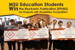 MSU Education Students Win the Electronic Publication (EPUB3) for Students with Disabilities Competition