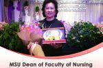 MSU Dean of Faculty of Nursing Receives the Excellence in Nursing Management Award
