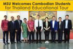MSU Welcomes Visitors from China and Indonesia