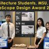 Architecture Students, MSU, wins BlueScope Design Award 2018
