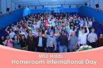 MSU Holds Homeroom International Day
