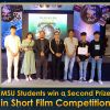 MSU Students win a Second Prize in Short Film Competition