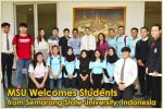 MSU Welcomes Students from Semarang State University, Indonesia