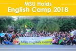 MSU Holds English Camp 2018