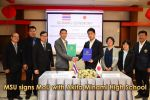 MSU signs MoU with Akita Minami High School
