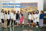 MSU Welcomes Exchange Students