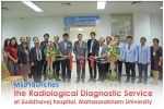 MSU launches the Radiological Diagnostic Service at Suddhavej hospital, Mahasarakham University