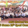 MSU Student Team wins the ENVI Game 25th Sport Competition