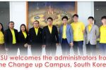 MSU welcomes the administrators from the Change up Campus, South Korea